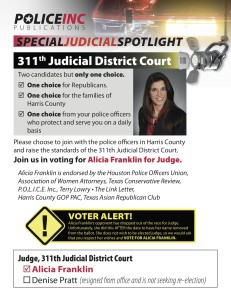 2014 RUNOFF SPECIAL JUDICIAL SPOTLIGHT